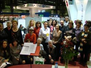 Membres del Club de Lectura a la visita al Saló del LLibre del 2008